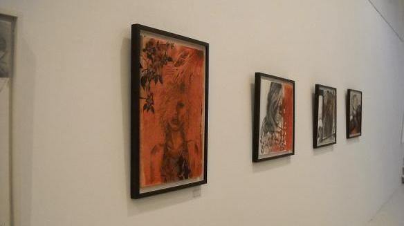 muestra en galeria de arte y psicoanalisis